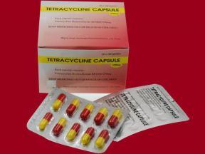 TETRACYCLINE CAPSULE