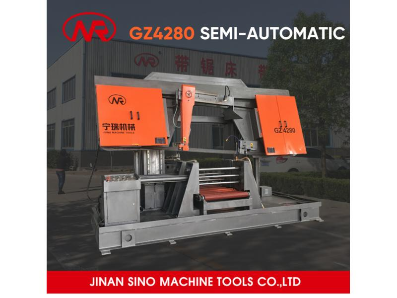 Strong Quality Band Saw Cutting Machine with Large Cutting Capacity