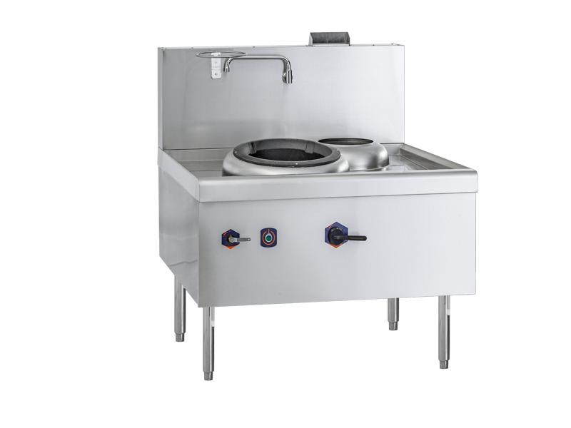 Cooking Range- Single Burner with Rear Pot