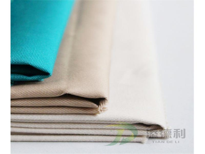 100% Polyester Canvas Dyed Fabric