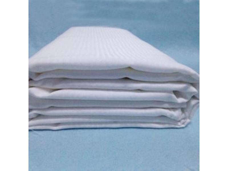 100% Polyester Herringbone Bleached Fabric
