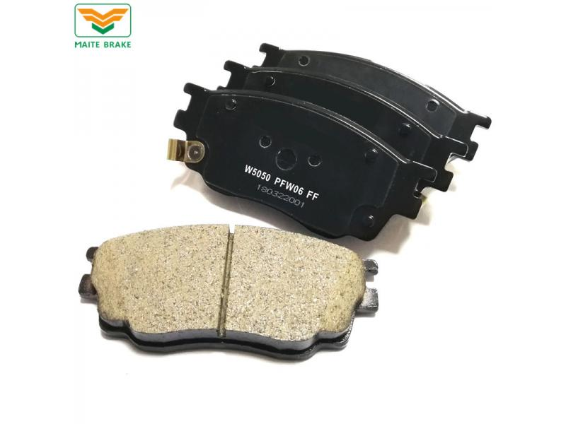 Discount Price Replacement Auto Spare Parts Auto Car Disc Brake Pad Manufacturers 7624-D755 for Mazd