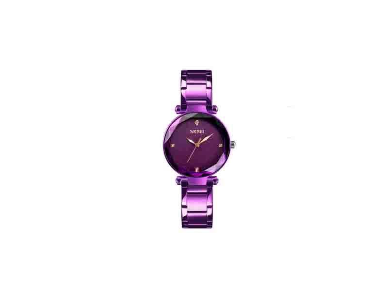 Skmei 9180 Shining Stainless Girls Diamond Women Watch Beautiful Lady Quartz Watches