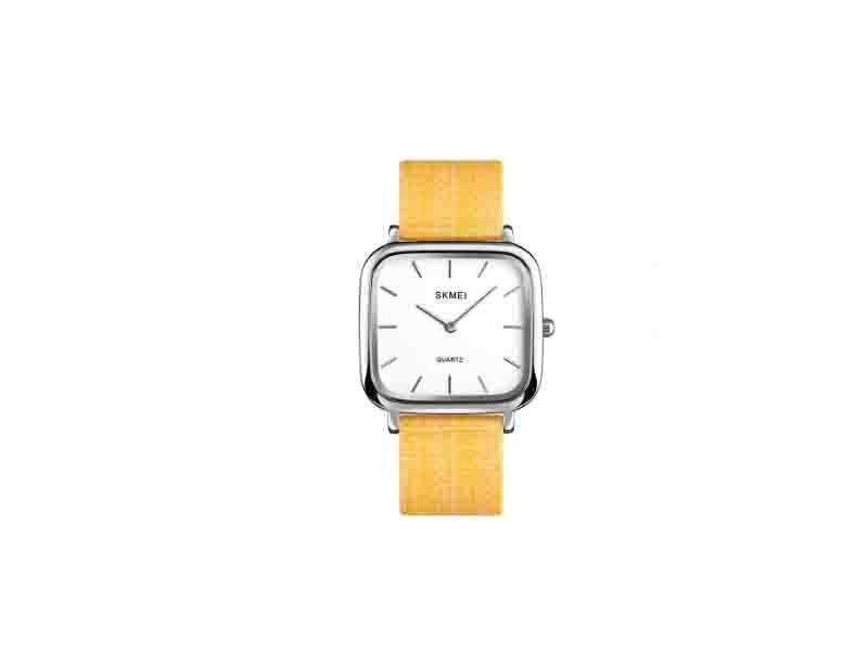 Skmei 1555 Fashion Lady Watch Classic OEM Girls Clock 304 Steel Quartz Women Watches