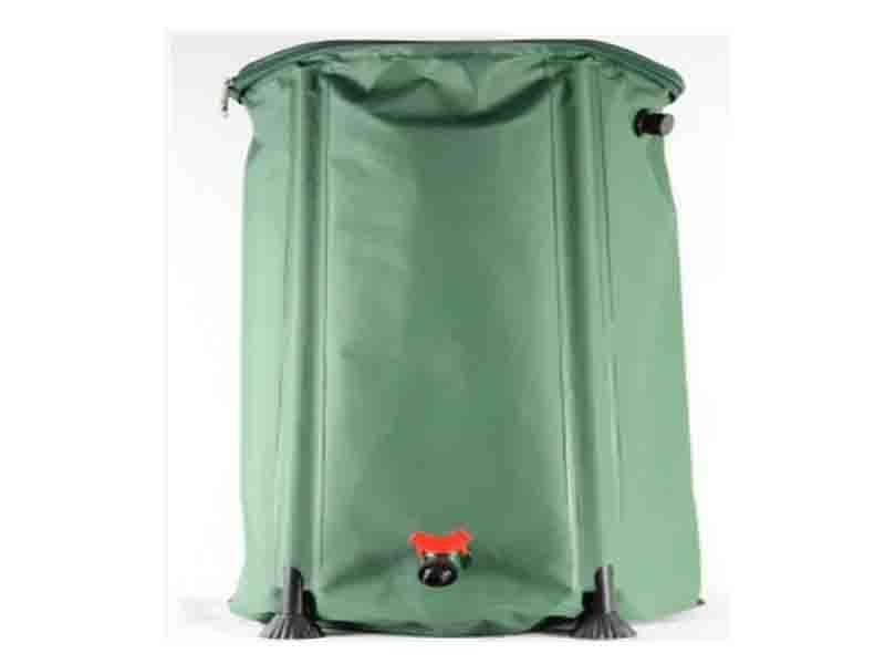 Garden PVC Rain Water Barrel Flexible Rainwater Barrel 250liter
