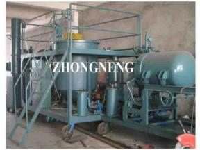 Waste Engine Oil and Motor Oil Recycling Plant for Oil Filter Machinery