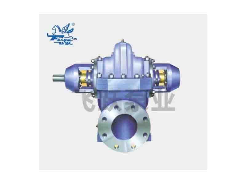 S Centrifugal Slurry Chemical Industrial Double Suction Pump