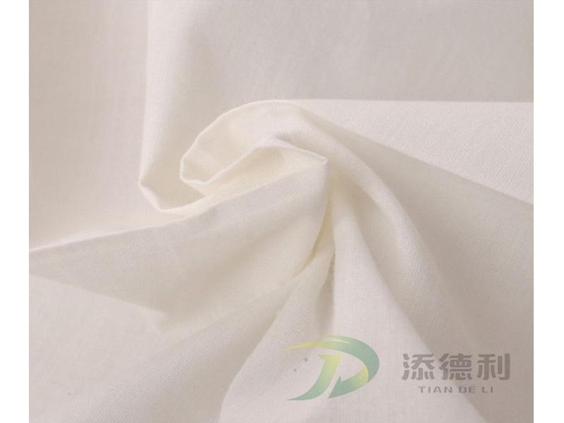 100% Polyester Canvas Bleached Fabric