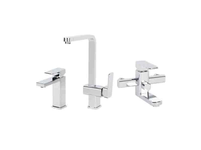 Bathroom Waterfall Brass Lavatory Basin Kitchen Bathtub Water Shower Faucet