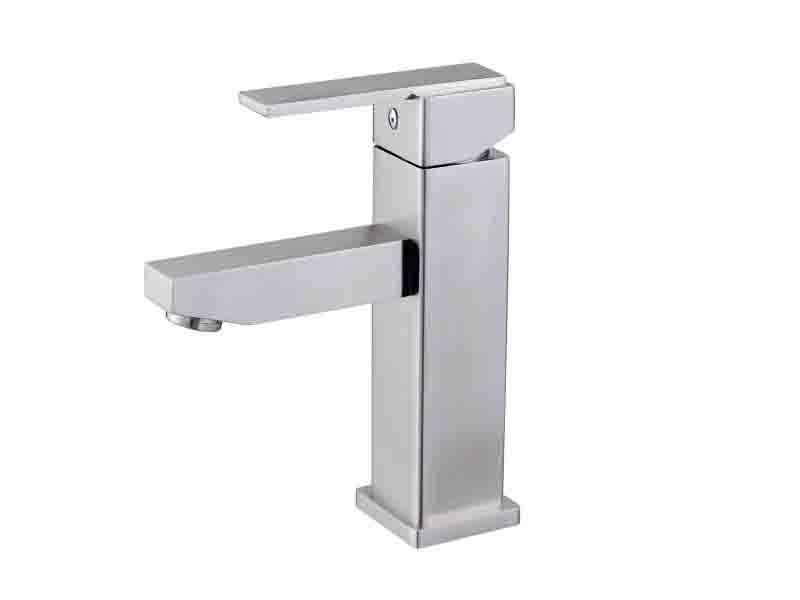 Hot Sale SUS304 Stainless Steel Wash Basin Faucet (LJ-9002)