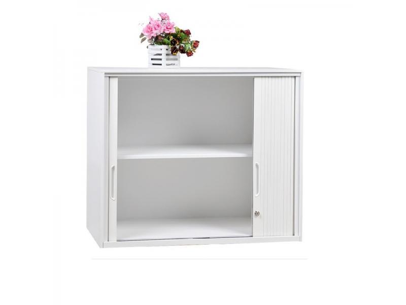 Luoyang Tambour Sliding Door Cupboard 2 Roll Door Filing Storage Cabinets