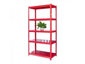 Metal Storage Shelf 5 Shelves Market Goods Shelf