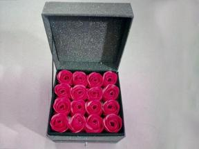 Gift Packaging Box with Flower