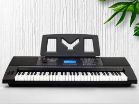 Musical Instrument Teaching Used Battery Operated Electronic Keyboard Piano