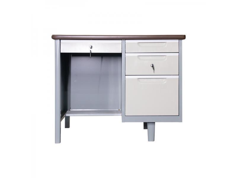 Modern Knock-down Steel Office Furniture Metal Steel Office Computer Table Office Desk