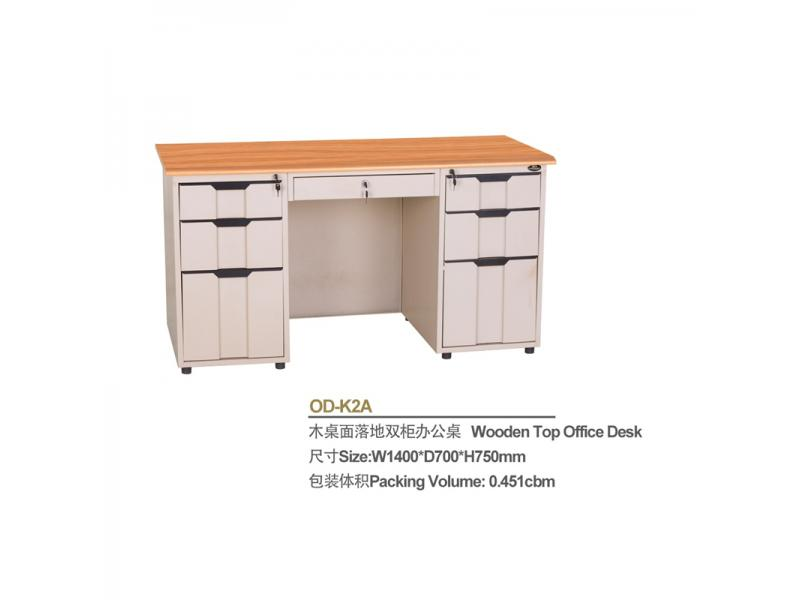 Modern Executive Office Desk Steel Computer Desk Cheap Price