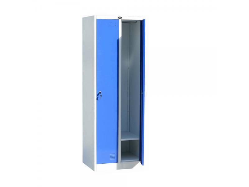 steel Office Furniture 2 Doors Vintage Metal Sports Gym Storage Locker for School Students
