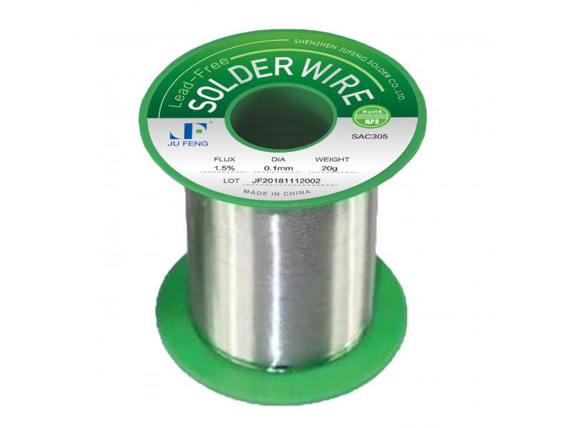 SN96.5ag3.0Cu0.5 Solder Wire SAC305 Solder Wire 0.1mm-3.0mm Diameter