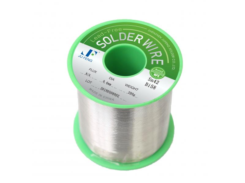 Sn42Bi58 Solder Wire Lead Free Solder Wire with Flux
