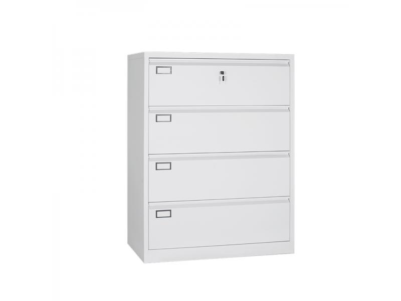 LUOYANG Office Furniture Used Four Drawer Metal Filing Cabinet