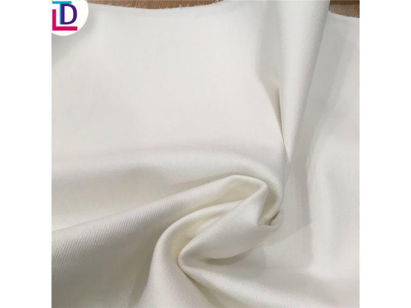 TC 65/35 Twill Bleached Fabric