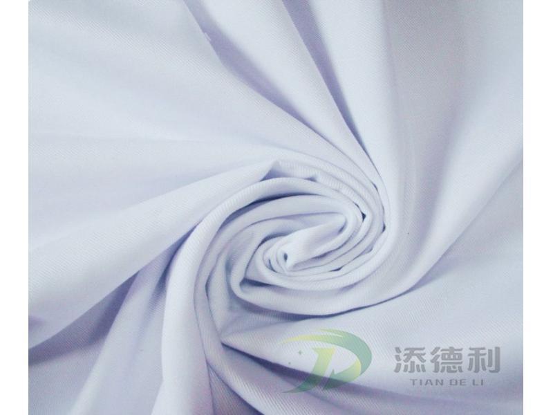 TC 90/10 Twill Bleached Fabric