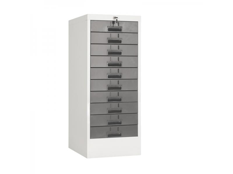Modern Customized Steel Storage Ten Drawer File Cabinet Durable Office Steel Filing Cabinet