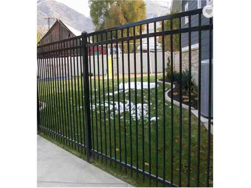 Iron Fences Prefabricated/Cheap Wrought Iron Fence Panels for Sale/Metal Fence Panels