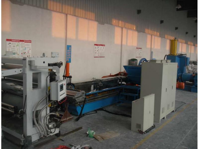 2020  Hot Sale Bicolor EVA, PE, PEVA Plastic Sheet  Making Machine Line