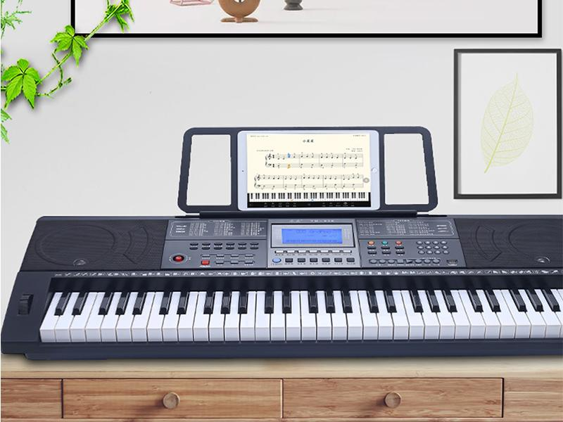 Top Sale 61 Keys Portable Midi Keyboard Piano for Kids and Adults