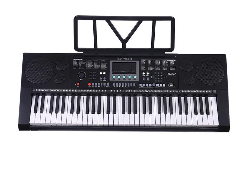 Factory Price Slim Flexible  Piano Keyboard 61 Keys