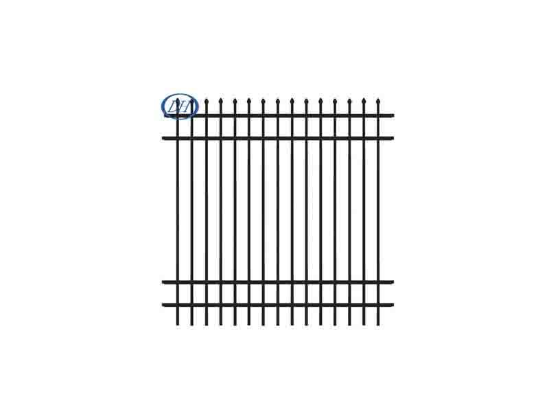 2017 New Design Adjustable Modular Wrought Cast Iron Fencing Exported To North America Market / Fenc