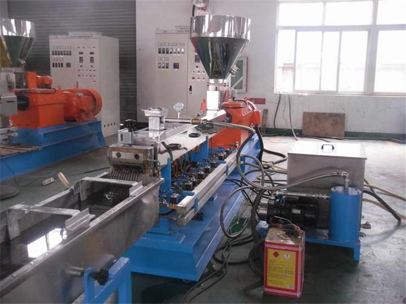 2020New Process!Color Masterbatch Pelletizer with Pull-push Twin Screw Extruder