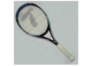 Tennis Racquet in Blue/ Made of 100% High Modulus Graphite