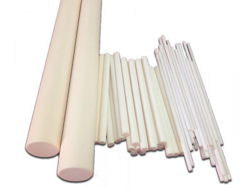 Industrial 99.5% Alumina Insulation Ceramic Round Rod/Sticks