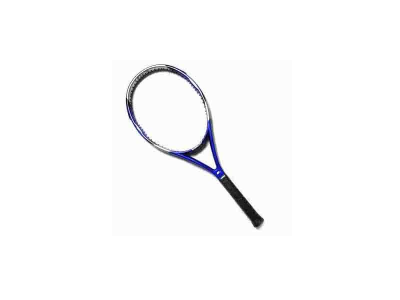 Tennis Racquet in Blue/Made of 100% High Modulus Graphite