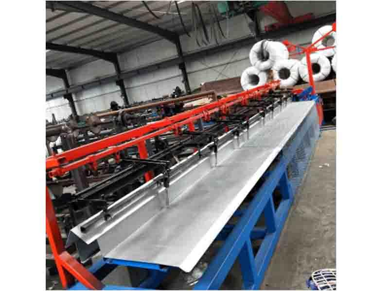 New Type Semi Automatic Chain Link Fence Machine