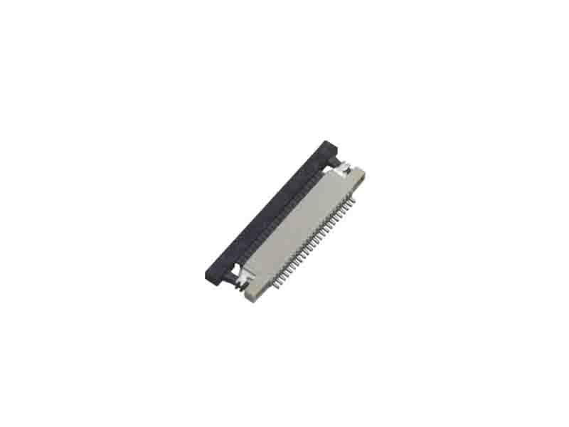 0.5mm FPC H=2.0mm Right Angle SMT Up Contact Type