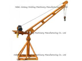 100-1000kg Construction Equipment Small Size Mobile Wheel Electric Lifting Arm Crane for Sale 100kg-