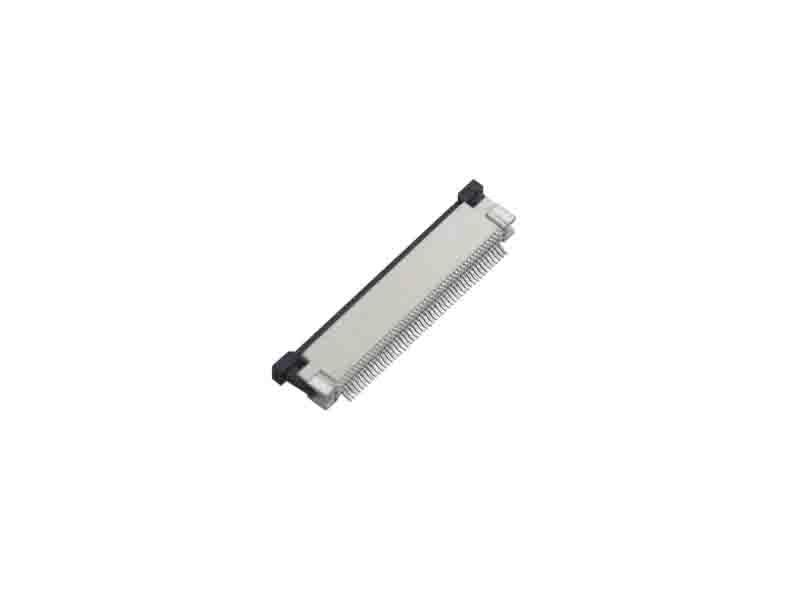 0.5mm FPC H=3.0mm Right Angle SMT Bottom Contact Type