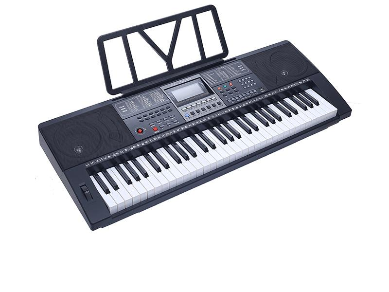 Musical Instrument 61 Keys Electronic Organ Keyboard Synthesizer Piano with USB Jack