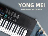 Small Portable USB Electronic Piano Keyboard