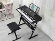 Factory Direct Sell Digital Display Electronic Organ Piano 61 Keys Musical Keyboard with Stand