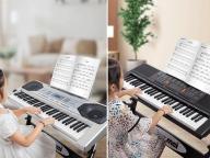 Factory Wholesale 61 Keys Keyboard Piano Electronic Organ Keyboard for Sale