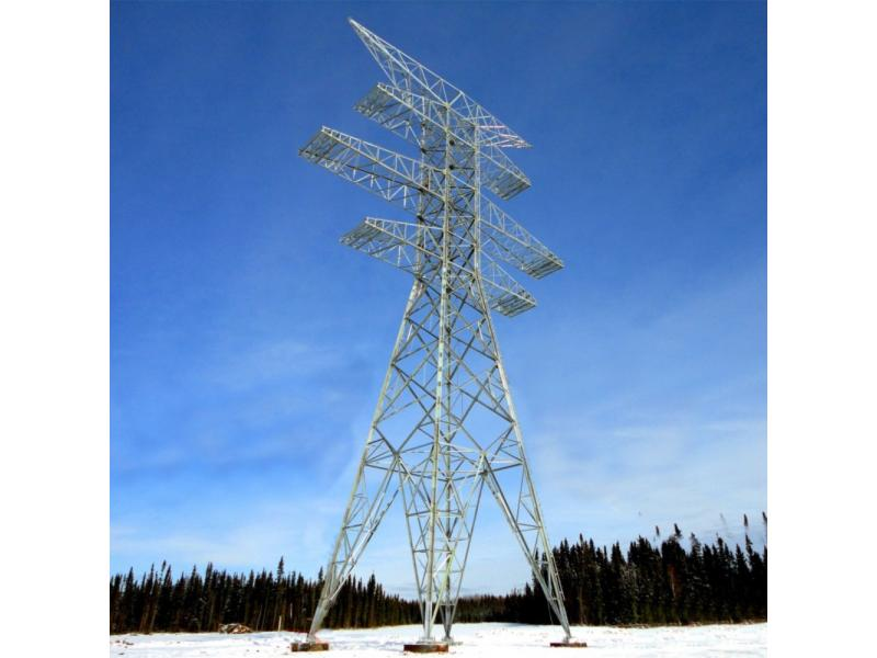 Chinese Factory Angle Steel Tower for Transmission Line