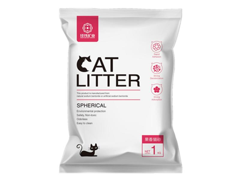 Fruits Fragrance Bentonite Ball Cat Litter