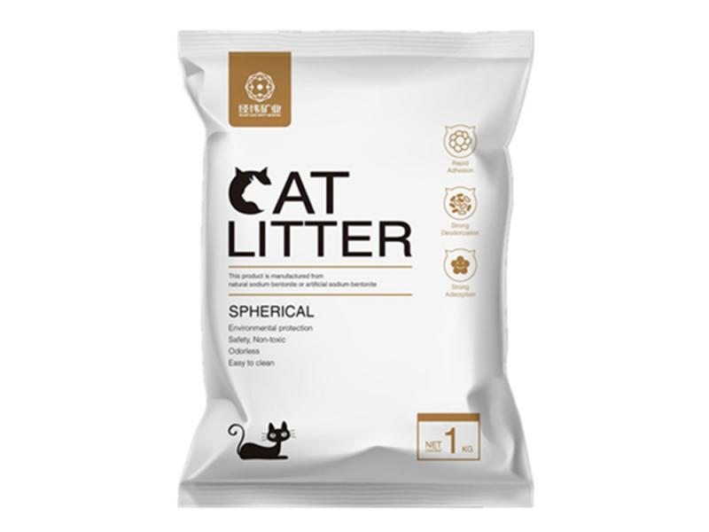 Natural Bentonite Ball Cat Litter