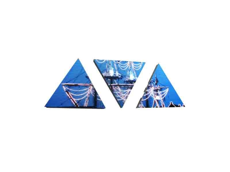 Triangular LED Display