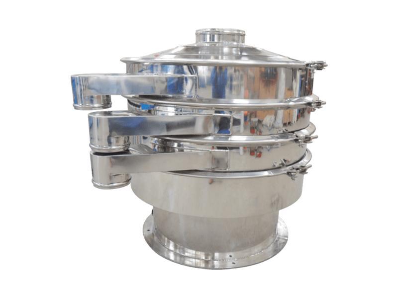 Industrial Food Grade Cocoa Powder Grain Shaker Sieve Circle Grade Vibrating Screen Sifting Machine