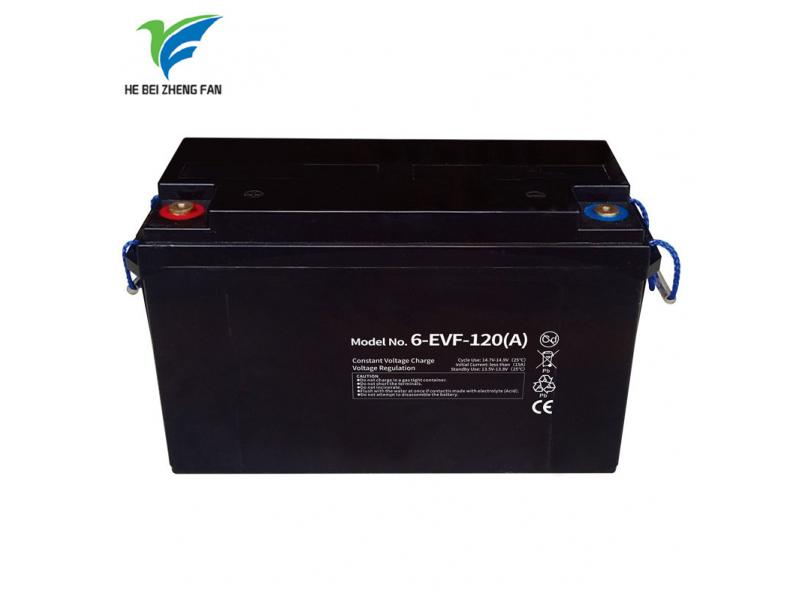 Zhengfan Battery 6-EVF-120 12v 120ah Lead Acid Storage E-rickshaw   Battery